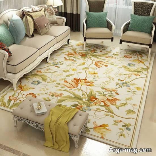 فرش اتاق نشیمن