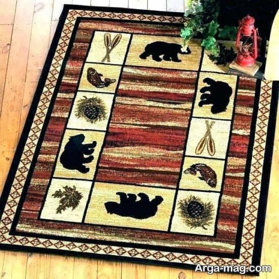 فرش فانتزی و زیبا