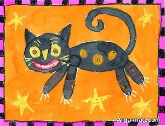 طراحی گربه در مدل های بامزه