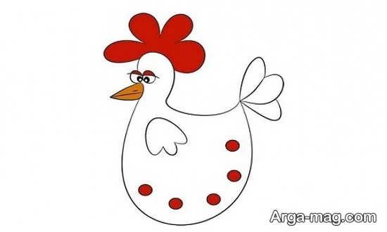مدل های جذاب کشیدن مرغ
