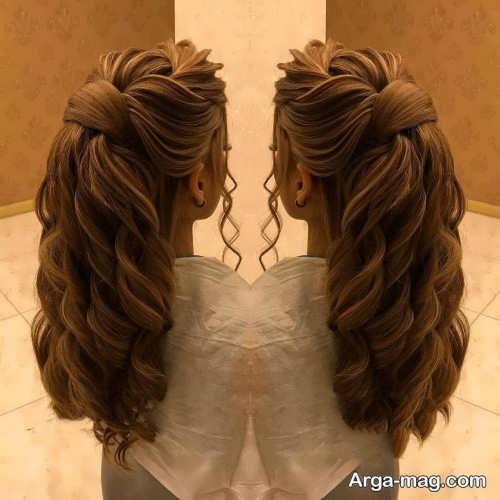 مدل مو نیمه باز و شیک