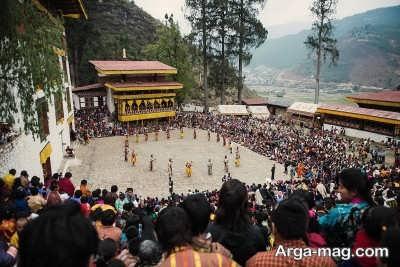 احترام گذاشتن به ارزش های بوتان