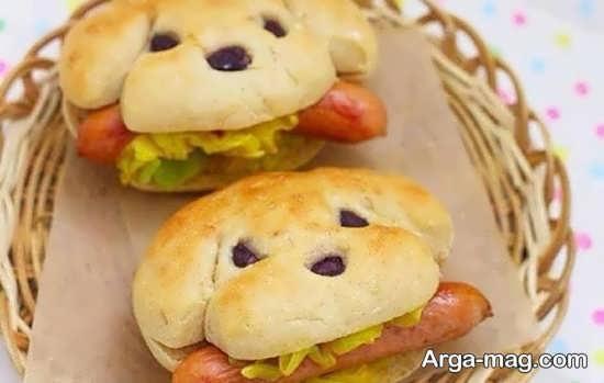 تزئینات ساندویچ با خاص ترین ایده ها
