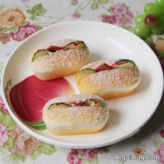 دوست داشتنی ترین تزئینات ساندویچ