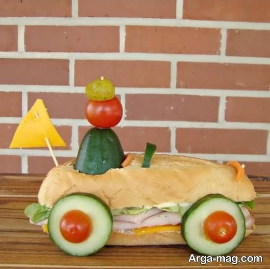 تزئینات کودکانه ساندویچ
