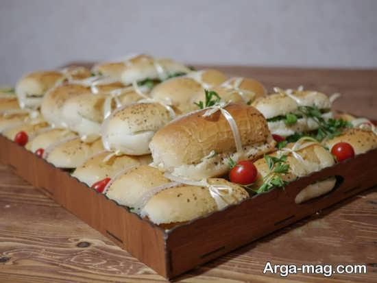 تزئینات ساندویچ با منحصر به فرد ترین ایده ها