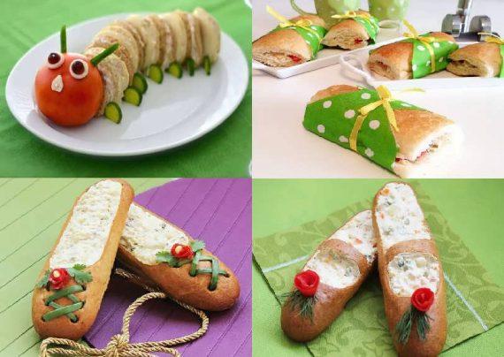 تزیین ساندویچ با ایده های خلاقانه
