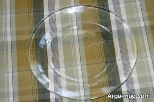 تمیز کردن ظروف شیشه ای
