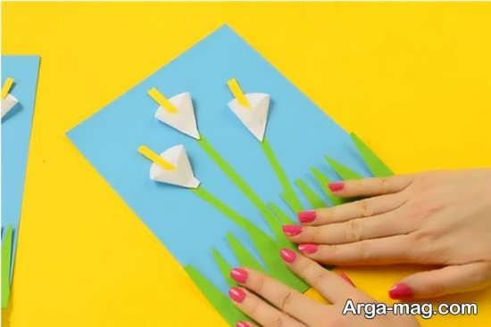 ایده های نو برای ساخت کاردستی با کاغذ
