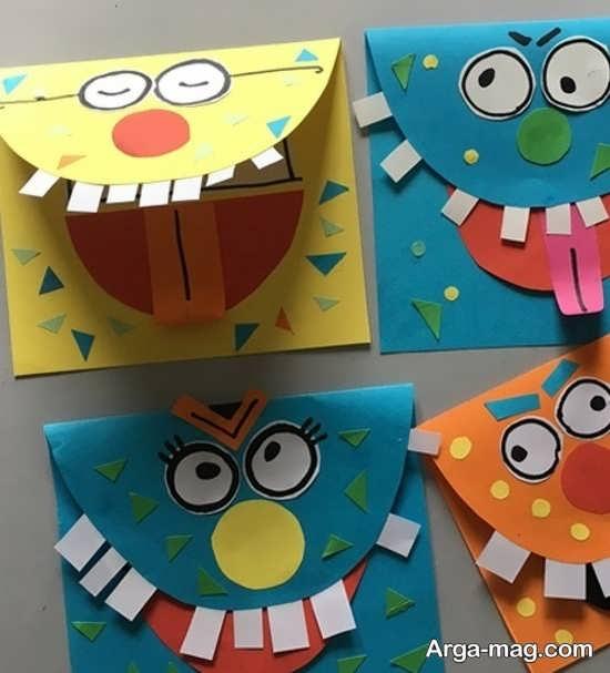 ساخت کاردستی های متفاوت با کاغذ