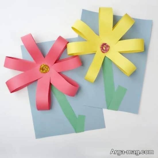 ساخت کاردستی های کاغذی در طرح های زیبا