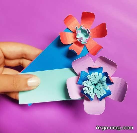 ساخت کاردستی های کاغذی در طرح های قشنگ