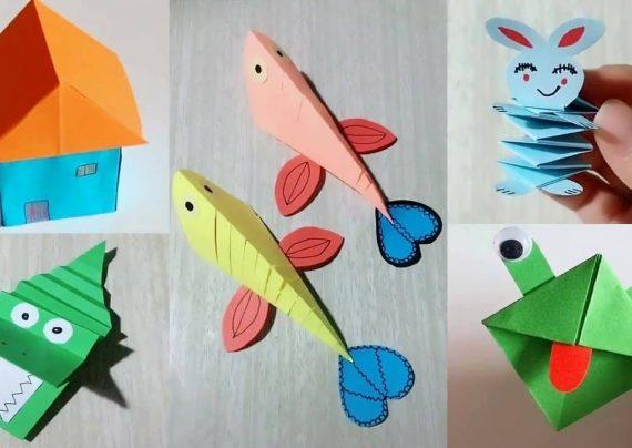 مدل های متنوع کاردستی با کاغذ آسان