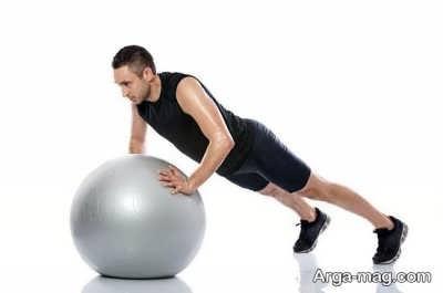 ورزش برای از بین بردن چربی شکم
