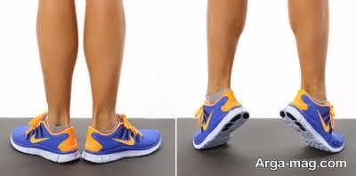 تمرین و ورزش برای لاغری ساق پا
