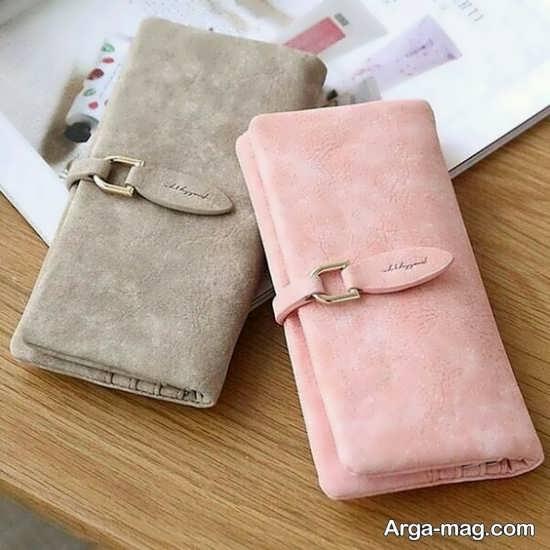 کیف پول دخترانه زیبا