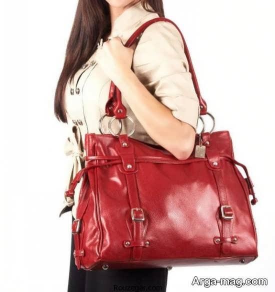 مدل کیف دخترانه طرح دار