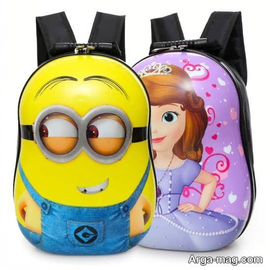 کیف کوله ای دخترانه