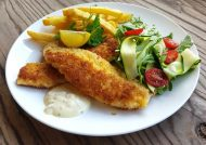 طرز تهیه شنیسل ماهی