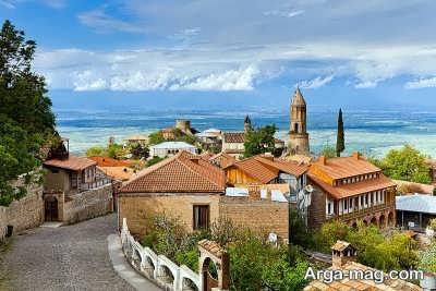 مناظر زیبا در کشور گرجستان