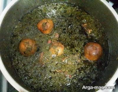 خورش قورمه سبزی