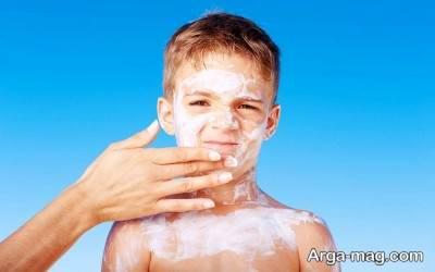 زنجبیل کمک به درمان آفتاب سوختگی