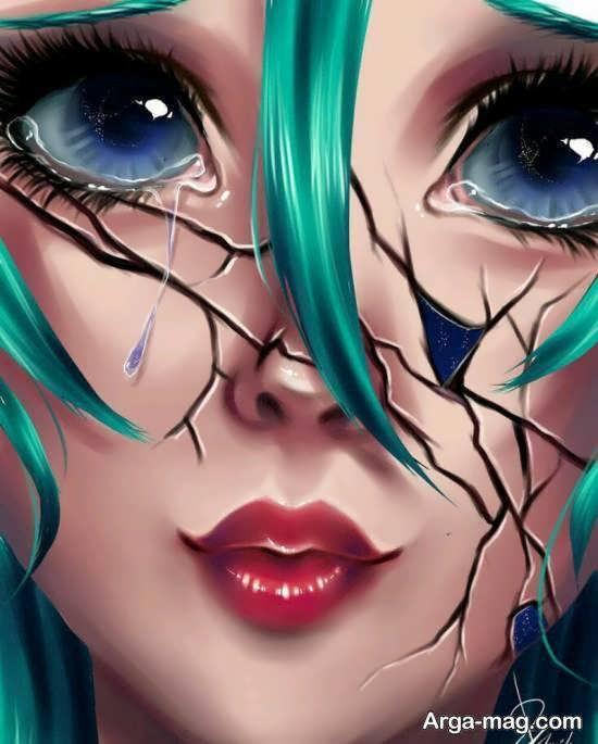 عکس کارتونی دخترانه زیبا و جالب