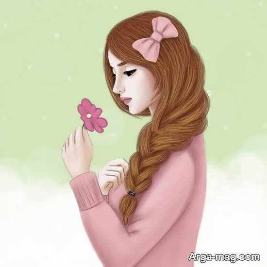 ایده های بینظیر و دوست داشتنی عکس کارتونی دخترانه