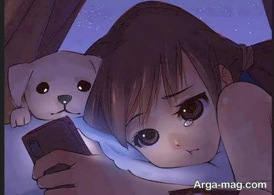 ایده های زیبا و بینظیر تصویر کارتونی دخترانه برای زیباسازی پروفایل