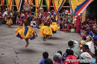 جشن های همگانی مردم بوتان