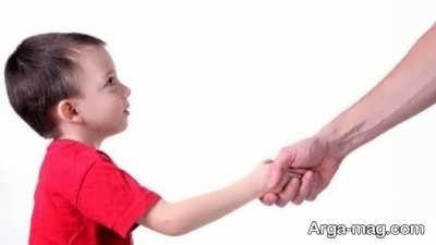 نحوه سلام کردن به کودکان