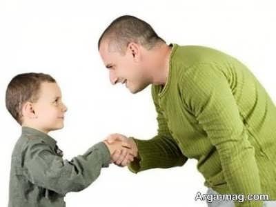 آموزش سلام دادن به بچه ها