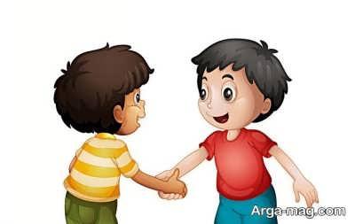 آموزش سلام کردن به بچه ها