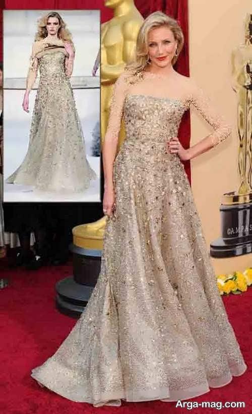 مدل لباس شب کامروم