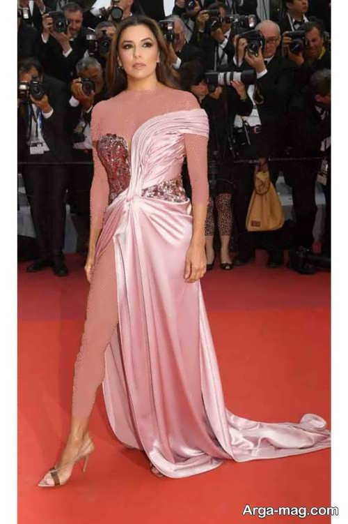 لباس شب رنگی اوا لونگوریا