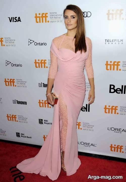 مدل لباس شب پنه لوپه کروز