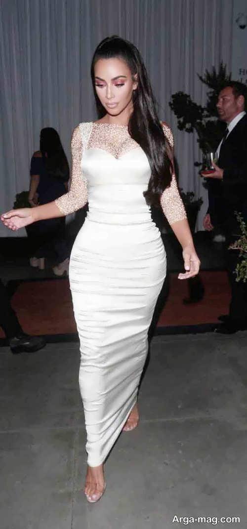 لباس سفید ریحانا