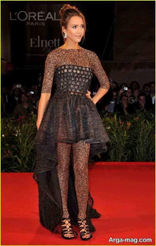 مدل لباس شب جسیکا آلبا