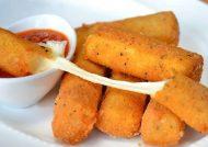 طرز تهیه پنیر سوخاری با طعم عالی