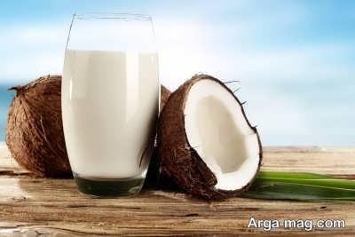 طرز تهیه آسان، شیر نارگیل
