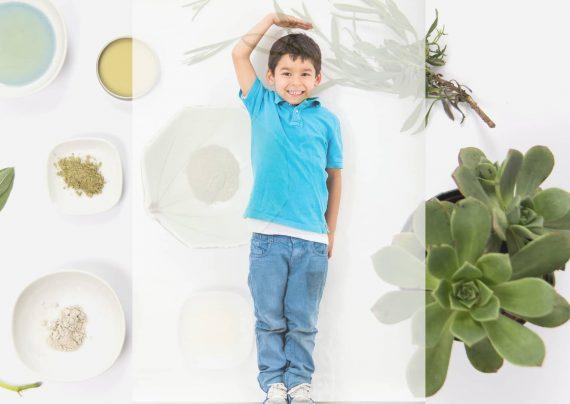 تتاثیر سبزیجات در افزایش رشد قد کودکان