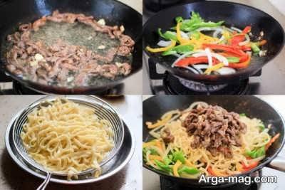 منوی غذایی ژاپنی