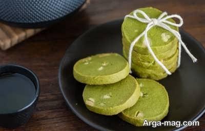 بیسکویت چای سبز