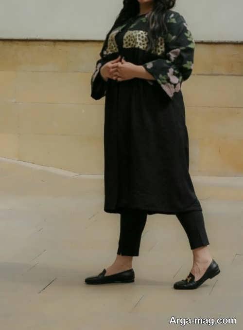 مدل مانتو سایز بزرگ با انواع طرح های شیک که شما را لاغرتر نشان می دهند
