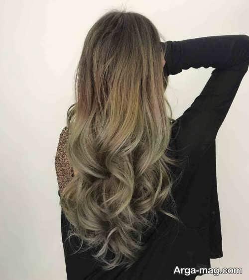 رنگ موی زیتونی زنانه