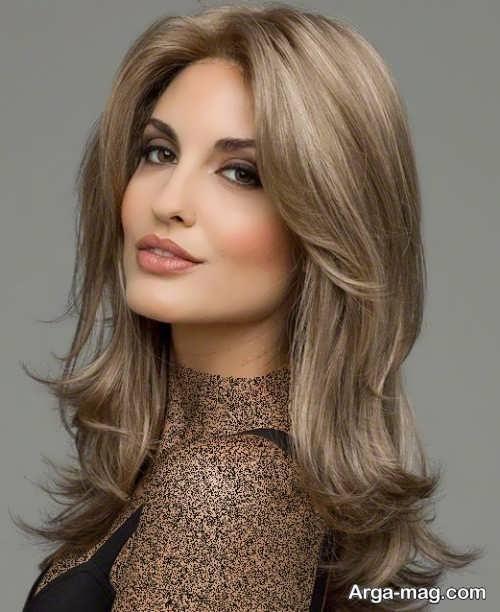 رنگ موی زنانه زیتونی