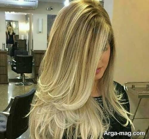 فرمول ترکیبی رنگ موی زیتونی