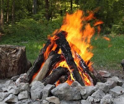 راه انداختن آتش با آب