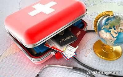 اقدامات لازم در زمان سفر به خارج از کشور