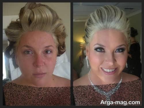 آرایش زیبا برای عروس